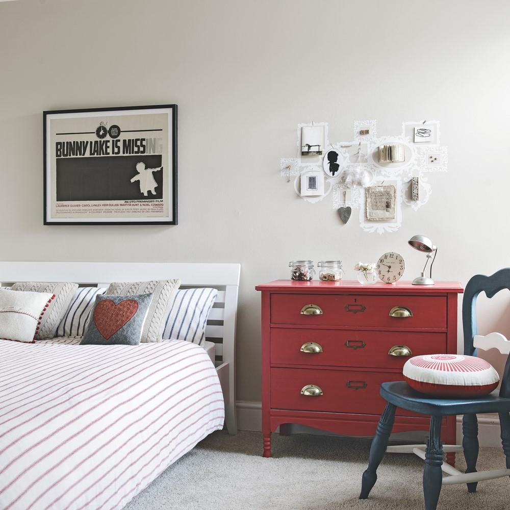 ایده برای اتاق خواب سفید