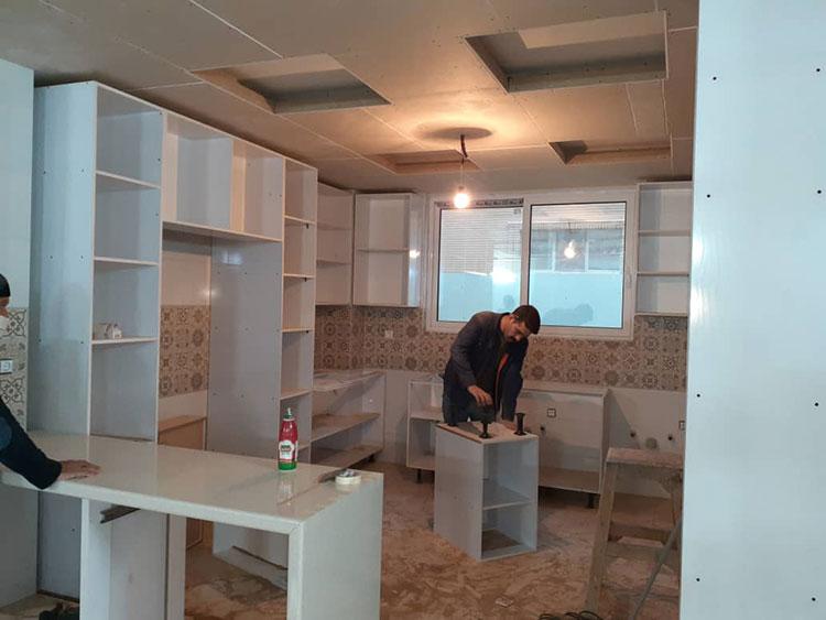 ساخت کابینت